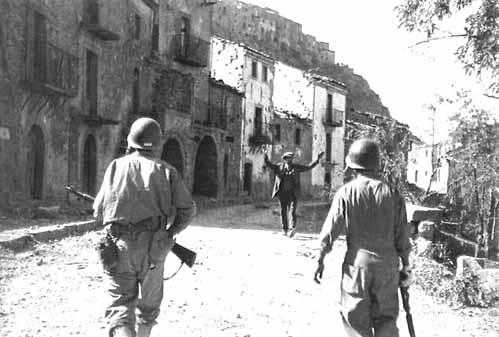 1943 battaglia Troina Robert Capa