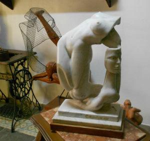 Bompietro scultura di sale