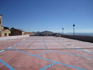 Caltanissetta parcheggio via Medaglie D'Oro