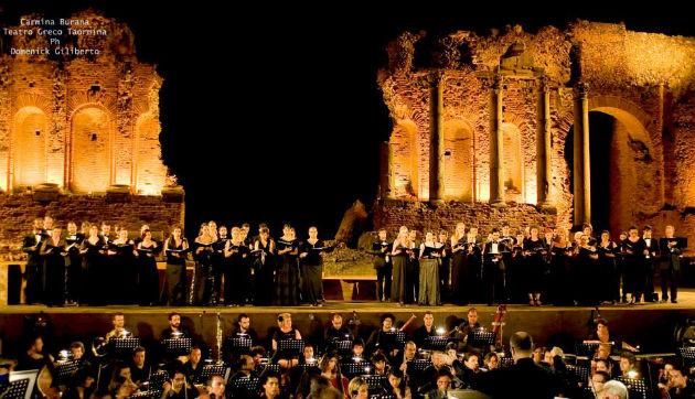 Coro Lirico Siciliano in concerto al Teatro Antico di Taormina