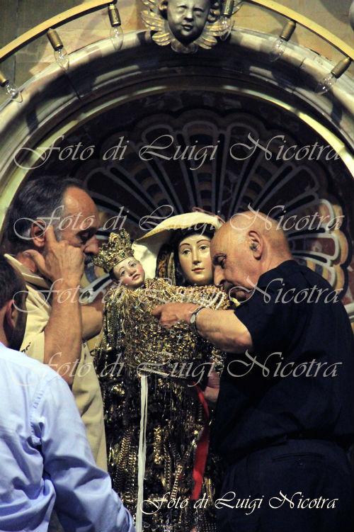 Enna Patrona Madonna visitazione pre apertura