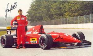Ivan Capelli su Ferrari 1993