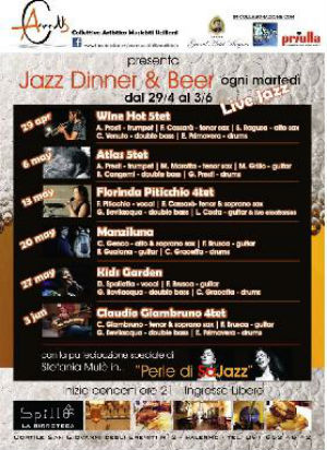 Jazz Dinner & Beer
