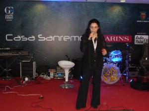 Ketty Ragno canta a Casa Sanremo
