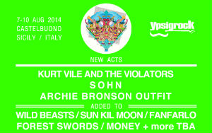NEW ACTS LINEUP 2014