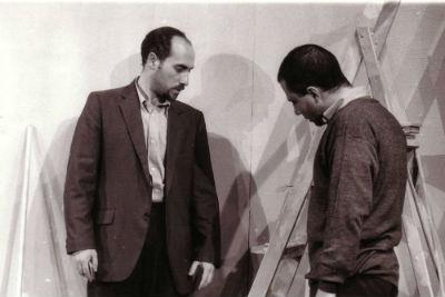 Spiro Scimone e Francesco Sframeli in Bar