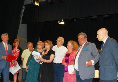 Taormina  poesia russa  sgarbi e vecchioni
