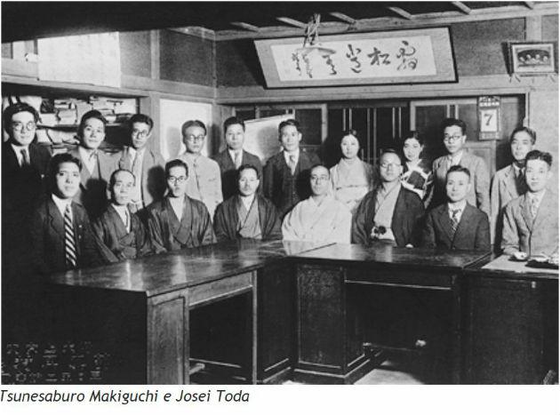 Tsunesaburo Makiguchi e Josei Toda