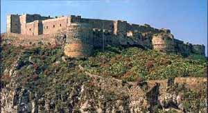 milazzo castello