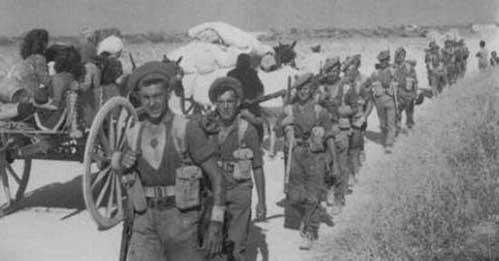 plotone soldati americani sbarco Sicilia