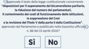 Referendum Provincia 2016 Enna:  SI 32,65 NO 67,35 – Capoluogo SI 29,58 NO 70,42 – Affluenza: 56,32%