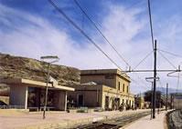 Museo della Memoria di arte mineraria e civiltà contadina Stazione Ferroviaria di Villarosa