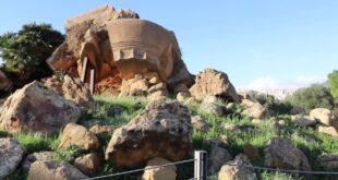 Valle dei Templi di Agrigento, recupero dell'Olympieion. Sarà ricostruito il telamone