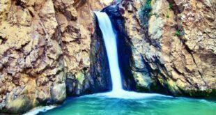 Le cascate di San Nicola, nella vallata di Bolognetta