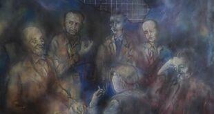 """Dipinto di Guadagnuolo: """"Il Simposio di Scrittori siciliani della Strada Statale 640"""", nel centenario nascita di Leonardo Sciascia"""