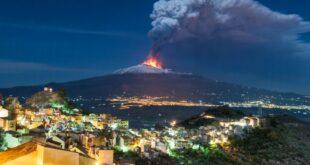 L'Etna si «alza»: la nuova vetta a 3.357 metri sul livello del mare. È un record